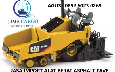 Jasa Import Asphalt Paver | Daffalindo