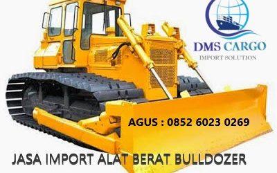 Jasa Import Barang Bulldozer | Daffalindo