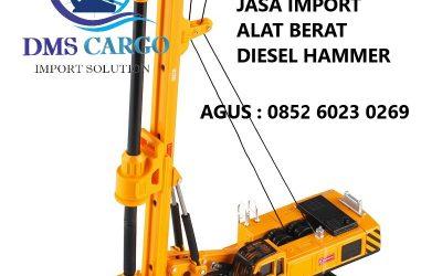 Jasa Import Diesel Hammer | Daffalindo