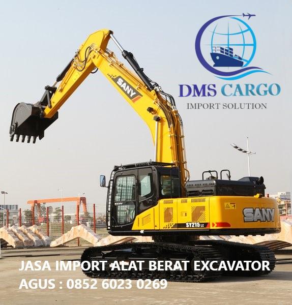 Jasa Import Barang Excavator | Daffalindo