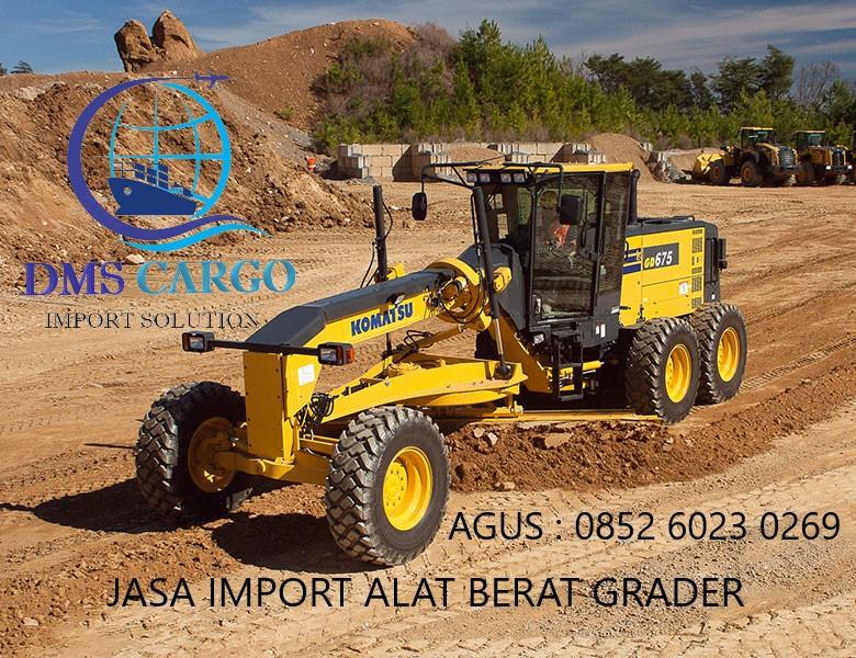 Jasa Import Barang Grader | Daffalindo