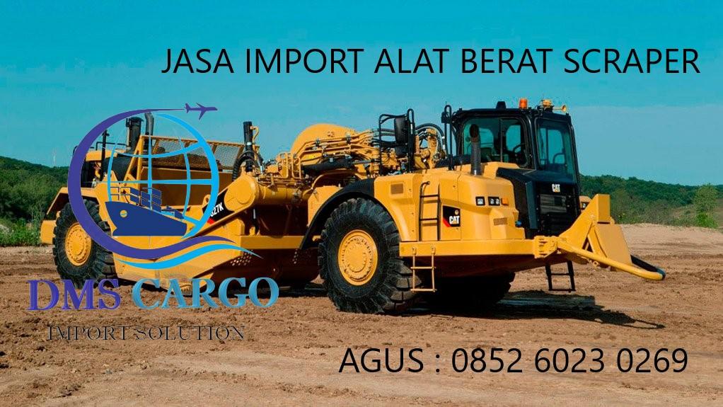 Jasa Import Barang Scraper | Daffalindo