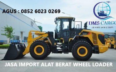 Jasa Import Wheel Loader | Daffalindo