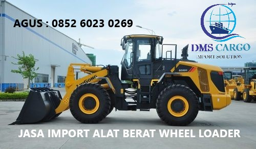 Jasa Import Wheel Loader | Daffalindo